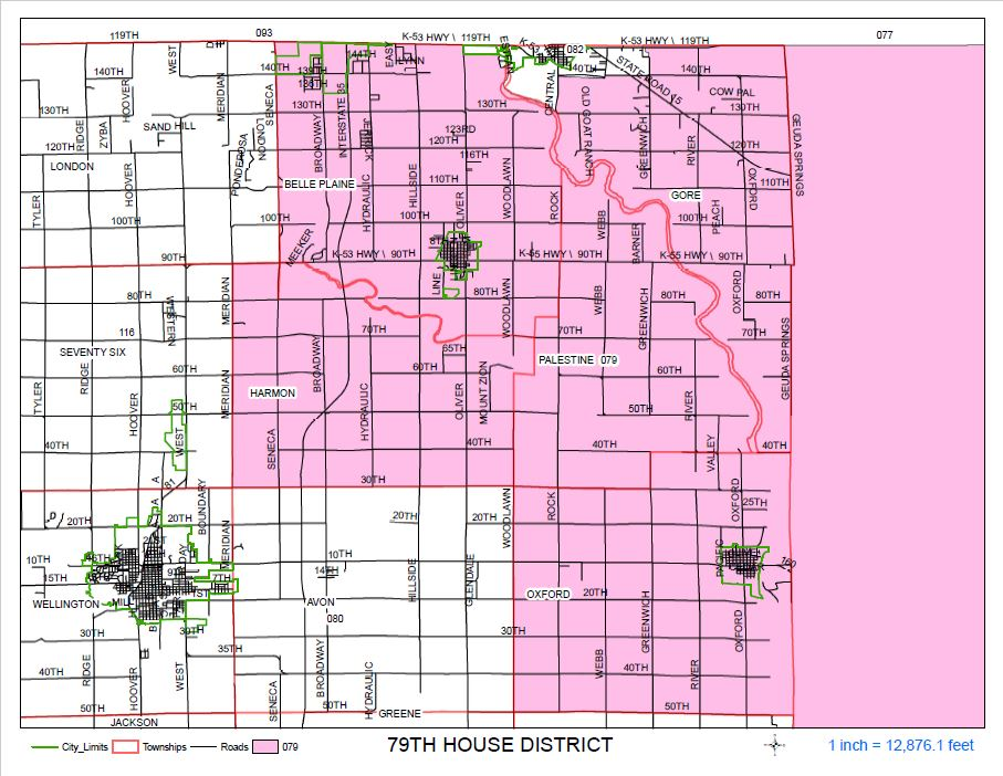 Sumner County Kansas Map.Lgis V5 By Thomson Reuters
